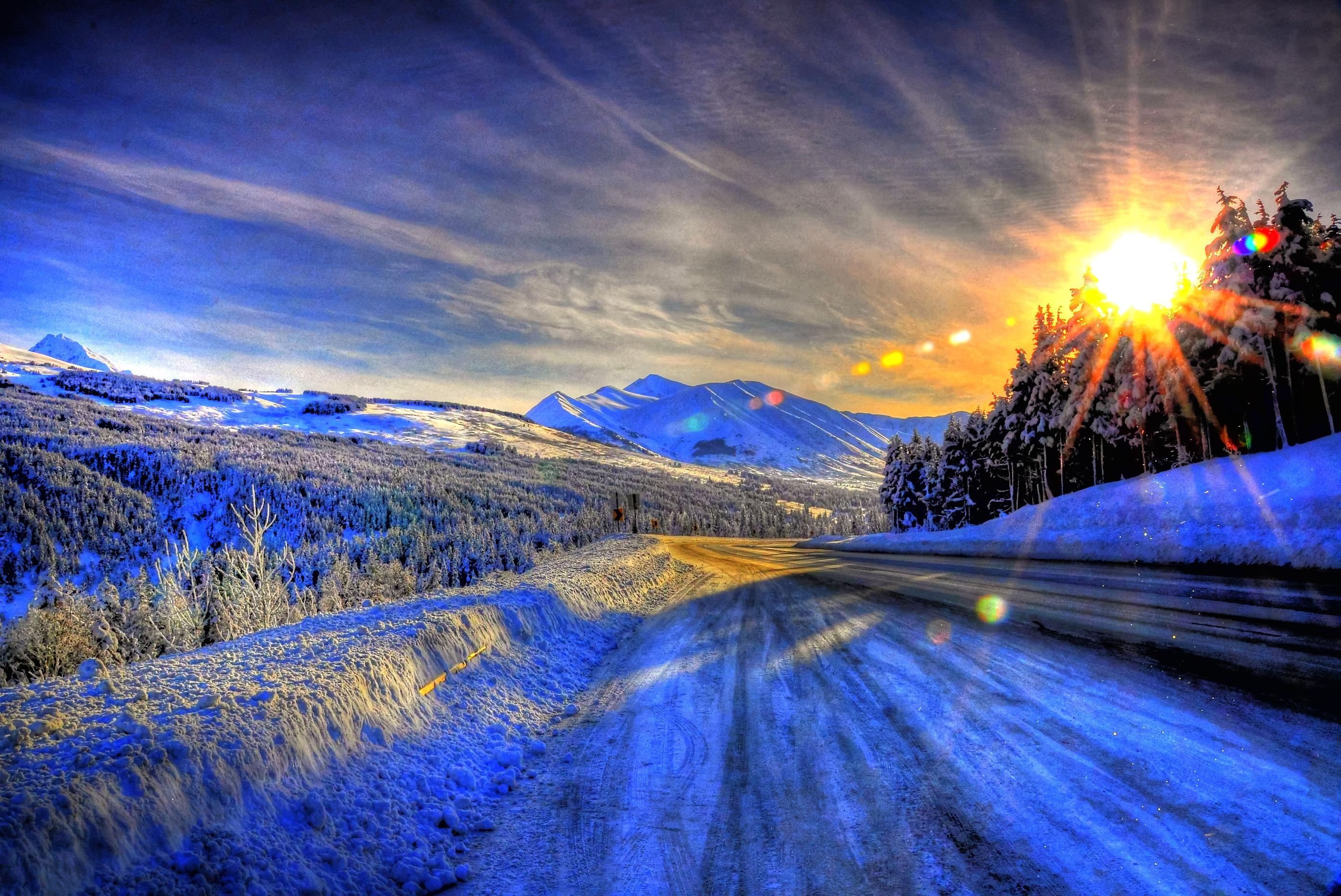 Alaska winter wallpaper wallpaper 4 brain chase for Paesaggi bellissimi per desktop