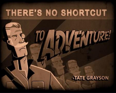 no shortcut to adventure
