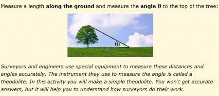 protractor measuring